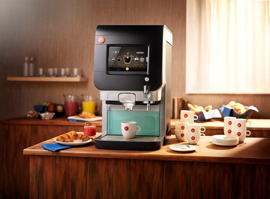 hotel coffee machine